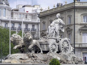 Amore e mito: Fuente de la Cibeles